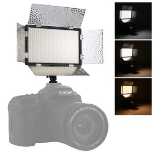 Canon / Nikon DSLR Kamera LED01 520 LED'ler 4100LM Profesyonel Vlogging Fotoğrafçılık video Fotoğraf Stüdyosu Işık