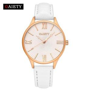 Повседневные женские классические часы подарок для девушки изысканный кожаный wirst watch Montre fashion Wild Trend студенческие кварцевые часы femmes