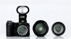 Новая модернизированная профессиональная цифровая фотокамера пикселов HD POLO SLR D7300 Protax Мега с заменимым объективом