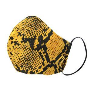 Máscaras Mujer de poliéster algodón de la cara reutilizable lavable leopardo máscara de la máscara a prueba de polvo anti-Haze PM2.5 Con 2pcs Filtros ZZA2149