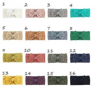 INS bowknot baby headbands handwork bows Newborn designer headbands girls designer headband baby girl hair accessories kids headband