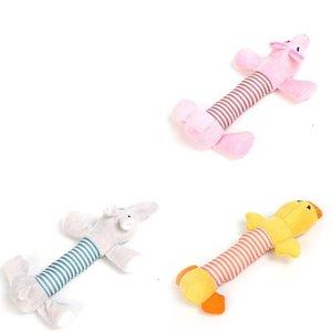 Собака плюшевые игрушки щенок игрушка для домашних животных жует скрипучая утка слон популярные несколько стилей прекрасный 3 9lc F1
