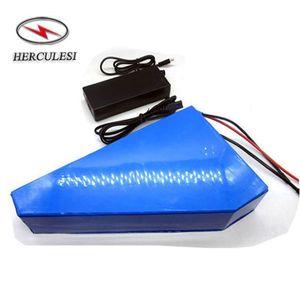 Jogo elétrico da bateria de íon de lítio do jogo da bicicleta de 1500W 1000W 60V 20Ah bateria de Ebike do triângulo de 60 volts
