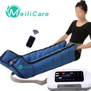 Terapia de infrarrojos Compresión del aire Presoterapia pie pierna Massager vibración del brazo de la cintura neumática Aire onda máquina de presión