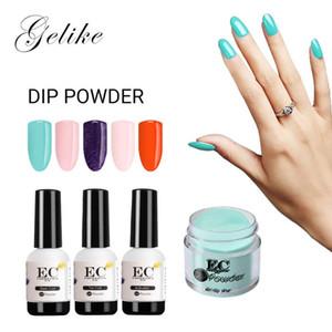 Color Powder Nails Dip Manicure Starter Kit Mirror Gel Varnish No Uv Light 10G Dip System Review Natural Acrylic Dropshipping