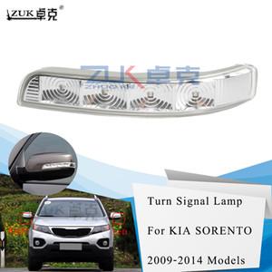 ZUK yepyeni Sol Sağ Dikiz Ayna Sinyal LED Işık Tekrarlayıcı İçin KIA Sorento 2009 2010 2011 2012 2013 2014 çevirin