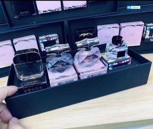 Perfumes de alta calidad de la marca Mini Kit Perfumes Set Perfumes Fragancias de la Mujer 4 en 1 Parfums culpable de bambú la flora de alta calidad del envío
