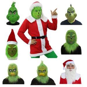 Natale Geek Cosplay Mask Xmas cappello casco costume Come il Geek Natale Stole Christmas Prop Un formato misura la maggior parte