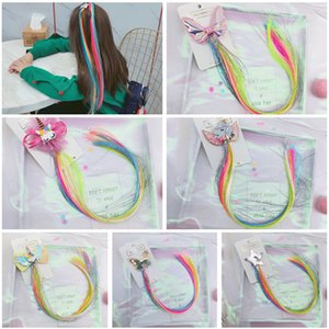 12 ragazze di stili colorata farfalla Stella parrucca forcine bambini svegli clip bei capelli fasce Barrettes bambini Accessori per capelli Top INS