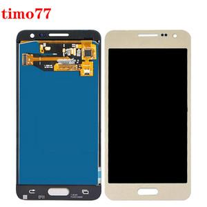 cam ile 4,5 İnç için Samsung Galaxy A3 A3 2015 A300 A300X LCD Ekran Dokunmatik Ekran Sayısallaştırıcı Meclisi Değiştirilmesi% 100 Testi temperli