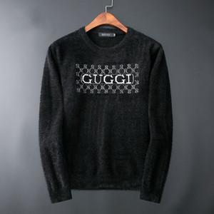 2020 мужские дизайнерские свитера модный бренд свитер вышивка с буквами Sluxury мужские дизайнерские свитера дизайнерский джемпер водолазка мужчины