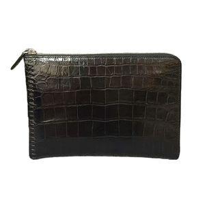 Crocodile Clutch Belly Uomini Pochette Leather Bag 2019 Nuovo Pochette Business Casual