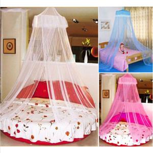 Elegante Lace Bed Rede de Mosquito Net malha Canopy Princesa redonda Dome Net Bed