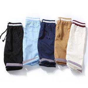 Htlb Brand New Men's Summer Fashion Casual Bermuda Beach Board Shorts 2019 Summer Pure Cotton Denim Masculina Shorts Men Y190508