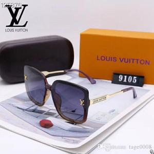 2020 Luxury Fashion Designers Large Metal Sun Óculos para lentes Homens Mulheres vidro de protecção UV dos óculos de sol 03