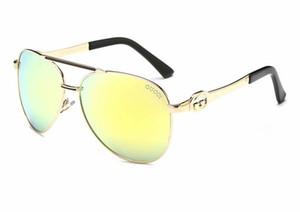2019 neue Marken-Sonnenbrille Weinlese-Pilot Wayfarer Sonnenbrillen UV400 der Frauen Männer Männer Frauen Ben Glass bain Lenses
