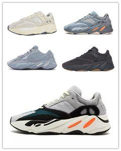 2020 Горячие Продажи Беговые Обувь 7OO Wave Runner Mauve Vanta Больница Blue Men Беговые Обувь Kanye West 700 V2 Дизайнерская Обувь Спортивные кроссовки