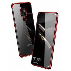 FOR Huawei mate 20 X Electroplate TPU Soft Case For Huawei mate 20 pro Anit-Skid phone Case for huawei mate 20 lite 20X 20LITE