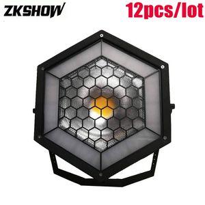 80% Off 200W Single Hexa LED Pixel Blight COB Strobe Light 3200K-5600K DMX512 DJ Disco Party Music Decor Stage Lighting Effect Equipment