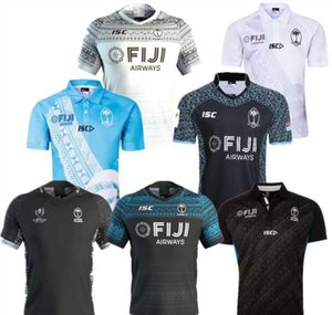 fiji ev uzakta Rugby forması Yediler Olimpiyat Gömlek Tayland kalite 18 19 20 fiji Milli 7 Rugby Jersey S-3XL