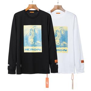 19FW Europa Y América Hip Hop Tarjeta de moda de la calle H P Grúa Y terciopelo con capucha suéter 1811