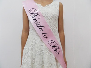 10 шт Bachelorette Party Supplies Свадебные наборы невесты Быть Stain поясами для девичника Fit женщин платье Свадебные сувениры украшения