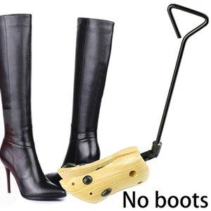 Shoe Stretcher Keeper High Heels Support Boots Expander Adjustable Length Wooden Anti Crease Professional Bending Crack Holder