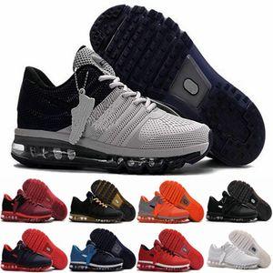 KPU atacado 2017 Mens Running Shoes Laranja Cinzento Branco Almofada Sports Sneakers Homens Atlético des Chaussures Trainers Zapatos Tamanho 13