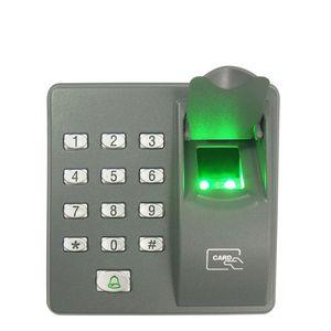 Dijital Elektrikli RFID Okuyucu X6 Parmak Tarayıcı Kod Sistemi Biyometrik Parmak İzi Kapı Kilidi Ev Güvenlik Sistemi için Erişim Kontrolü