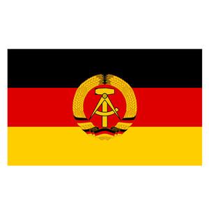 Flaggen Promotion 3X5FT Flagge von Ost-Deutschland Bedruckte Banner-Druck Hanging Fliege für Festival / Ereignis, freies Verschiffen