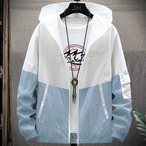 Sun protection clothing men 2020 men's skin casual sports fashion brand Youth Sunscreen jacket jacket jacket