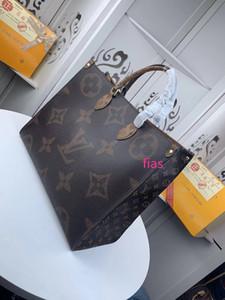 # حقيبة تسوق 5697 حقائب 5A L العلامة التجارية V Onthego حمل حقيبة يد نسائية أزياء كلاسيكية طورون الأعلى التعامل مع الحقائب جلد طبيعي سعة كبيرة 44576