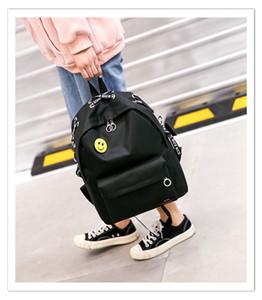 Distinctive2019 Backpack Shoulders Han Jianyue Trend Book Apporter Toile En Haute Étudiant Un Sac Femme