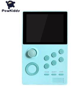 POWKIDDY A19 Pandoras Box Android supretro Handheld-Konsole IPS-Bildschirm 3000 speichern + Spiele 30 3D-Spiele WiFi Download 5pcs