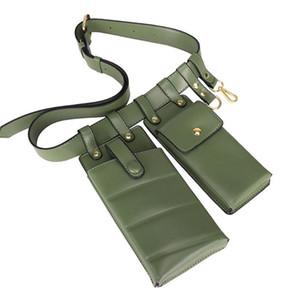 إمرأة حقائب الكتف الخصر Phone أزياء جلدية صغيرة الكتف موضة الخصر حزمة أنثى CROSSBODY حقائب