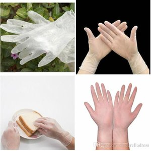 100pcs lot Disposable gloves PVC rubber high-density material pre-imitation gloves protective gloves 7339044