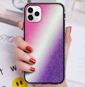 Diamant strass Glitter Bling Cell Phone cas pour l'iPhone 11 Pro Max XS Max XR XS 8 7