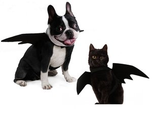 Disfraz de perro Cute Bat Wings Costume para perros Cat Kitten, Cute Dog Costume para decoración de fiesta