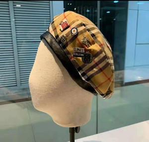 cappelli 2019 di moda haute couture strillone di alta qualità berretti inverno autunno cappelli fashionelegant per uomini e donne