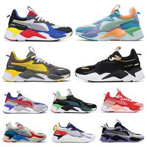 2020 Puma rs rs x-x Transformers Juguetes reinvención hombres mujeres zapatos para correr PÚRPURA FUCSIA AZUL ATOLÓN mens entrenadores deportivos zapatillas de deporte 36-45