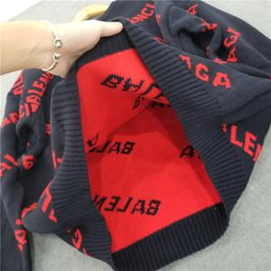 Бесплатная доставка Luxury шерстяной свитер для мужчин и женщин Лучшие качества фуфайки Multicolir мужской пуловер свитер S-2XL B104812W
