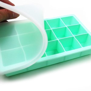 Silicone Form for Ice Mold Tray Fruit Popsicle Ice Cream Maker for Wine Party Kitchen Bar Drinking Accessories 5 Colors