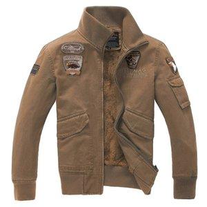 Un dur à cuire Épaississement Augmenter vers le bas Uniforme Fund Jacket Self-Cultivation Lead Stand Stand Pure Cotton Men's Leisure Time Jacket Loose Coat