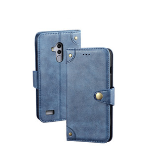YLYH TPU silicona proteger negocios cuero goma Gel cubierta teléfono caso para Leagoo S8 Pro S9 T8s S11 Z7 lujo bolsa Shell cartera Etui piel