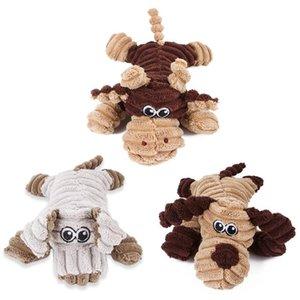 Pet черепахи Клоун Крупный рогатый скот Pet Форма Плюшевые Chew Молярная скрипучий игрушки для собак Puppy игрушки для чистки зубов