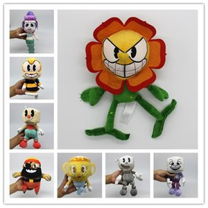 1 piece hot Game Cuphead Plush Toy Mugman the Devil Legendary Chalice King Dice Toys for Children new toys arrival
