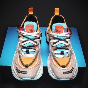 YEINSHAARS New Roman scarpe Casual per gli uomini di marca Trend Moda Uomo Sneaker pattini di svago Zapatillas Hombre Moda Uomo