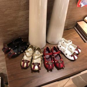 Moda Desighner Yay kız elbise ayakkabı çocuklar kız Ayakkabı bebek bebek Çiçek rahat sandalet 2020 çocuk Prenses düz Ayakkabı