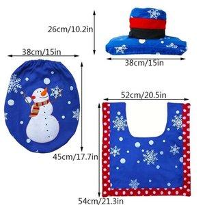Festa di Natale banner Table Decor Babbo Natale Guanto Zerbino bottiglia da tavola Holder Bag Buon Natale Decorazioni Per La Casa