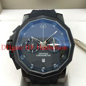Горячие продажи Кубок адмирала мужские часы Япония Miyota кварцевый секундомер 753 231 95 0371 AN13 левой PVD черный резиновый ремешок наручные часы